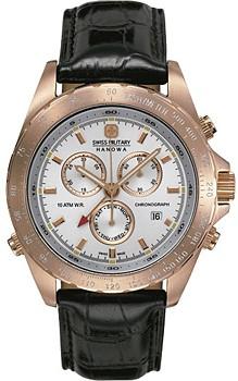 Swiss watch Swiss military hanowa Revenge Dual Time 06 ...