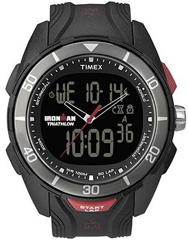 how to set timer on timex ironman triathlon watch